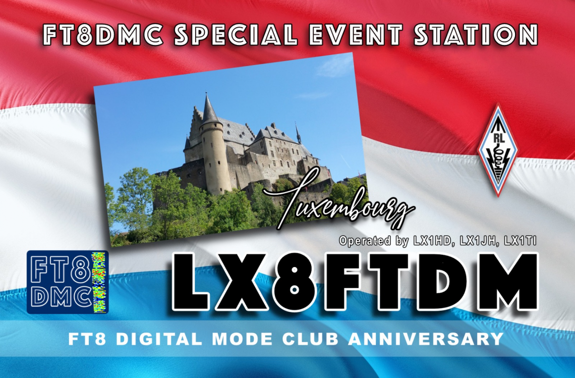 FT8DMC ANNIVERSARY ACTIVITY WEEKS 2019