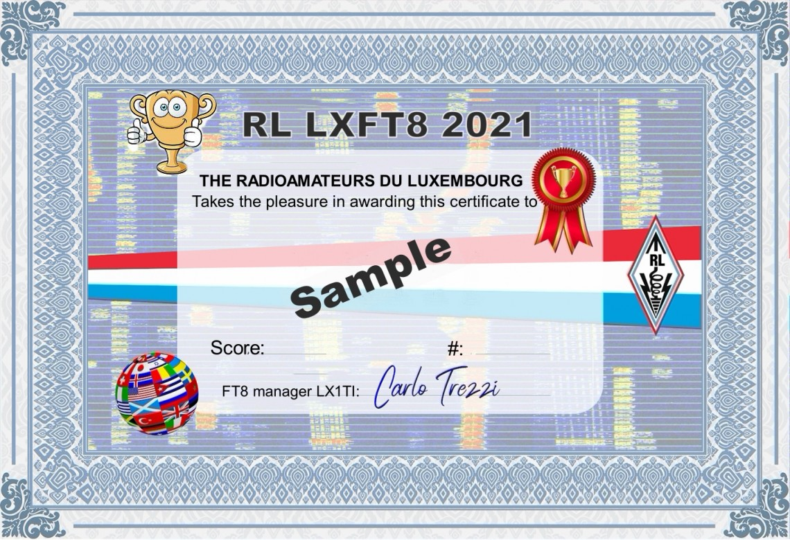 RL LXFT8 National DX Competition