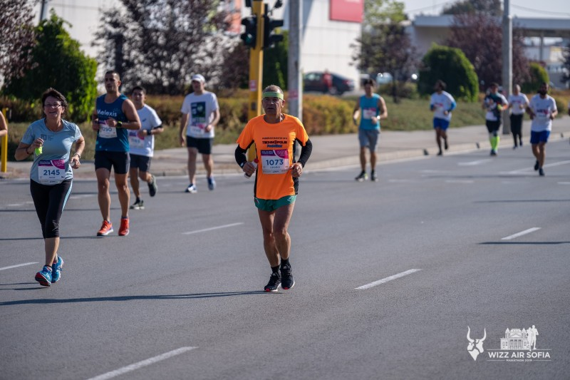 LZ1ZF - number 1073 in Sofia Marathon 2019