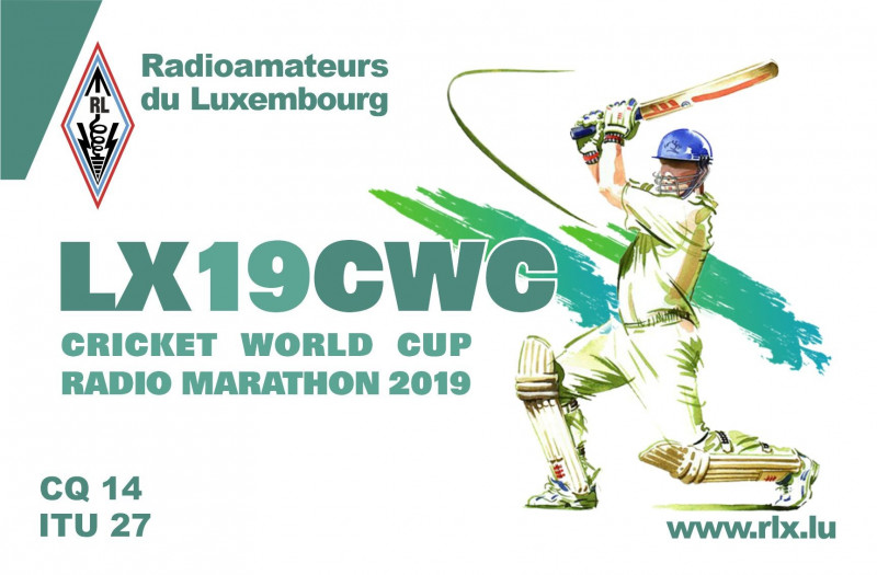 finally the LX19CWC QSL Card