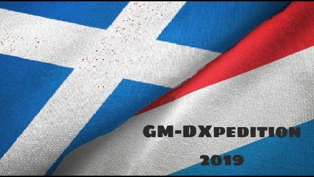 LX/GM0OBX - LUXEMBOURG DX PEDITION 2019
